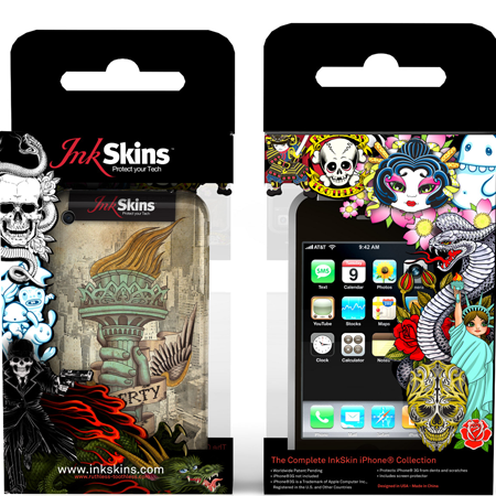 InkSkins Packaging